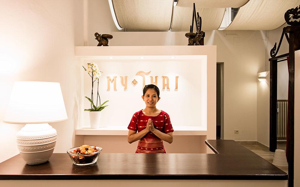 My Thai, ambiente di grande atmosfera per ricevere l'originale massaggio tailandese a Bologna. Ambiente pulito e massima serietà.