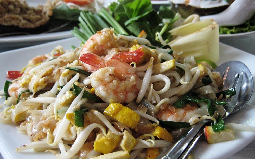 l'autenticità di una cucina tipica è come l'autenticità di un massaggio tipico. Thai non è un'etichetta